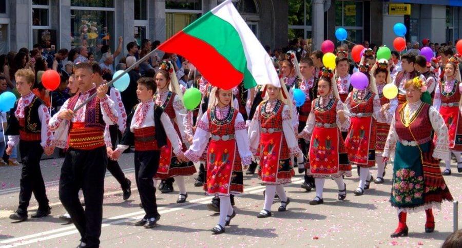 Rose Festival Parade Folklore Ansamble Marshing