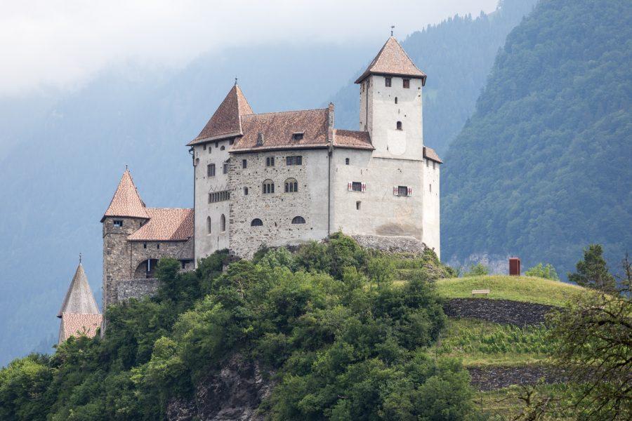 Gutenburg Castle in Liechtenstein