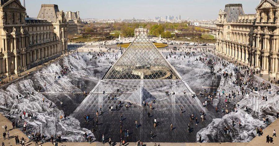 Jr Louvre Museum Pyramid Optical Illusion Anniversary Designboom 1200