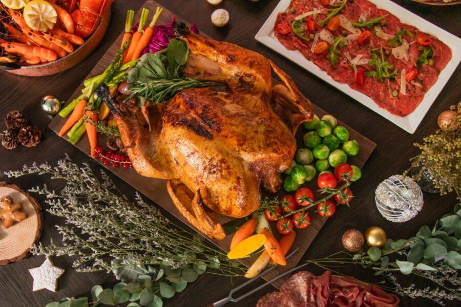 Roasted Turkey美式傳統聖誕火雞