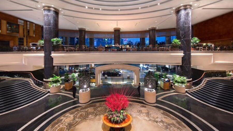 Grand Hyatt Hong Kong P928 Hotel Lobby.16X9