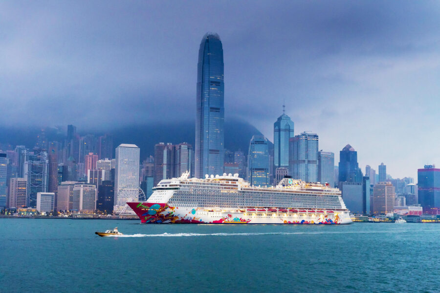 Dream Cruises Inaugural Ship Genting Dreams