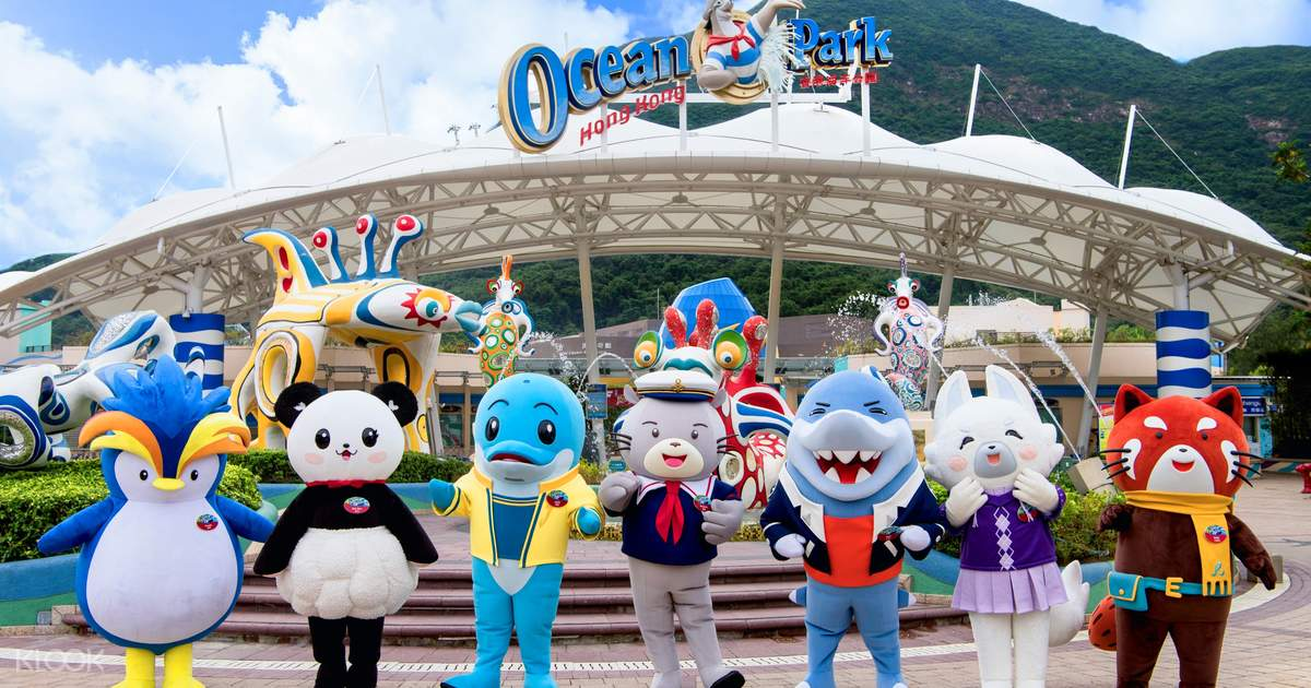 海洋公園門票 Hong Kong Ocean Park Ticket
