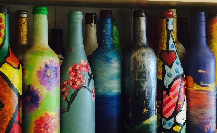 A5995D5C Bottle Painting Workshop 2